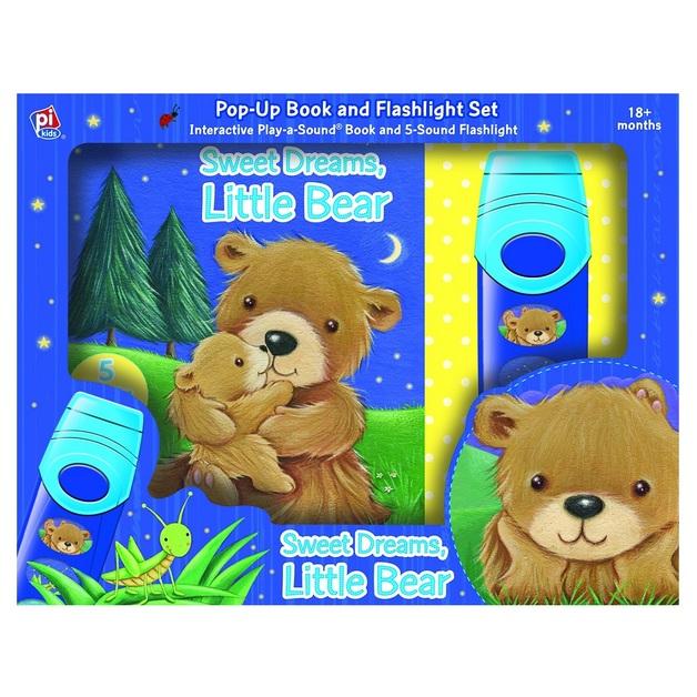Sweet Dreams Little Bear – Board Book and Flashlight Set