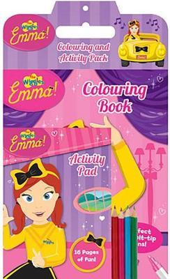 Wiggles Emma!: Colouring and Activity Pack by The Wiggles