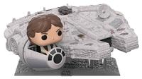 Star Wars: Han Solo & Millennium Falcon - Deluxe Pop! Vinyl Figure