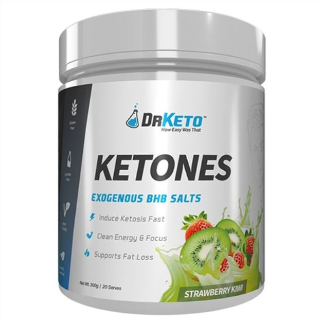 Dr Keto: Ketones - Strawberry Kiwi (20 Serve)
