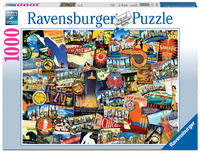 Ravensburger 1000 Piece Jigsaw Puzzle - Road Trip