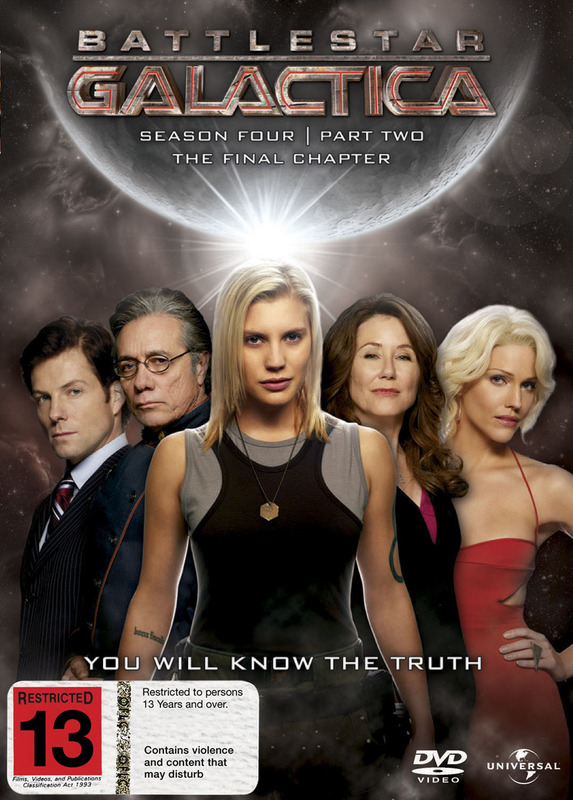 Battlestar Galactica - Season 4: Part 2 - The Final Season (4 Disc Set) on DVD