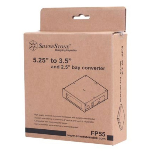 """SilverStone 5.25"""" to 3.5"""" Bay"""