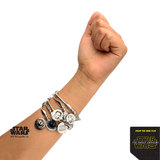 Star Wars Stainless Steel Rey Stretchable Bracelet