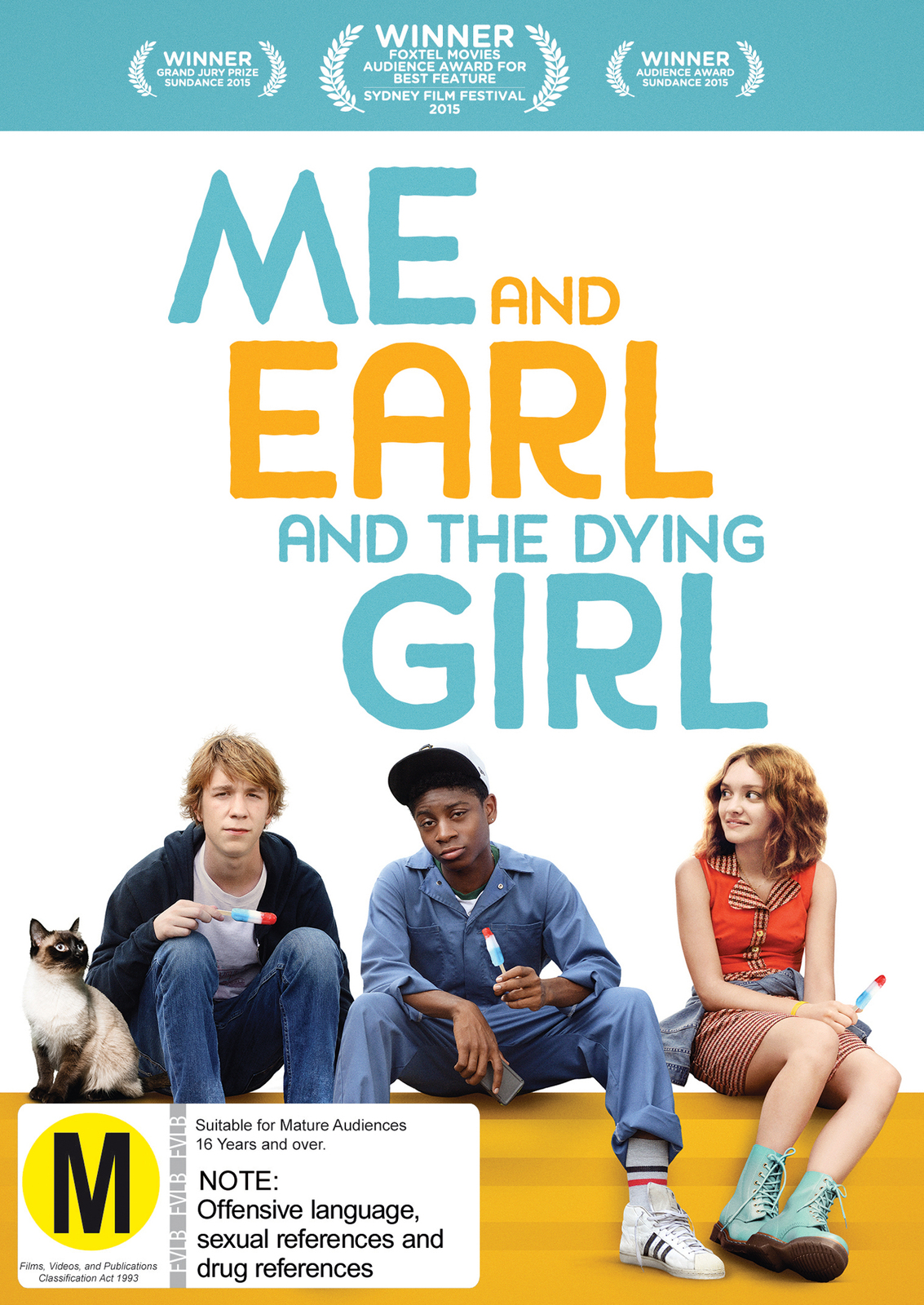 Me and Earl, and the Dying Girl on DVD image