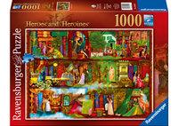 Ravenburger - Heroes & Heroines Puzzle (1000pc)