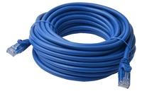 8ware: Cat 6a UTP Ethernet Cable Snagless - 10m (Blue) image