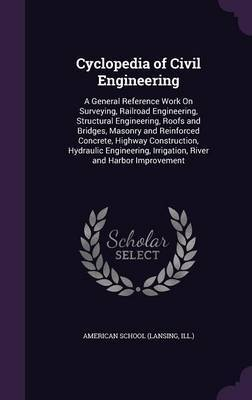 Cyclopedia of Civil Engineering