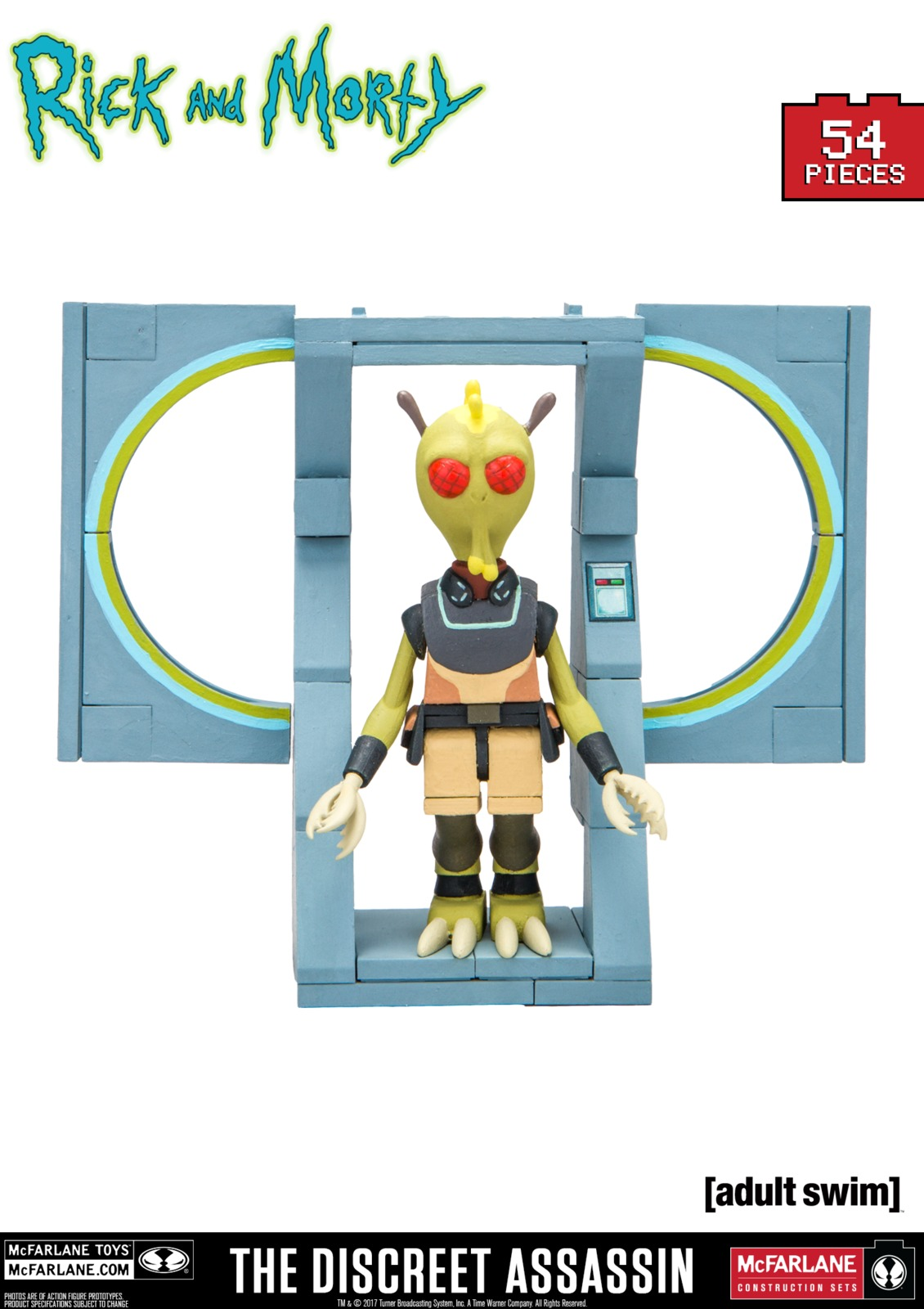 Rick and Morty: The Discreet Assassin - Micro Construction Set image