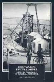 Cornwall's Future Mines by J.H. Trounson image