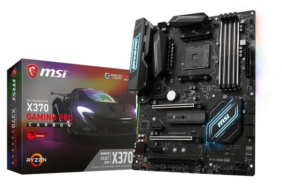 MSI X370 Gaming Pro Carbon Motherboard image