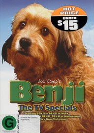 Benji - The TV Specials on DVD image