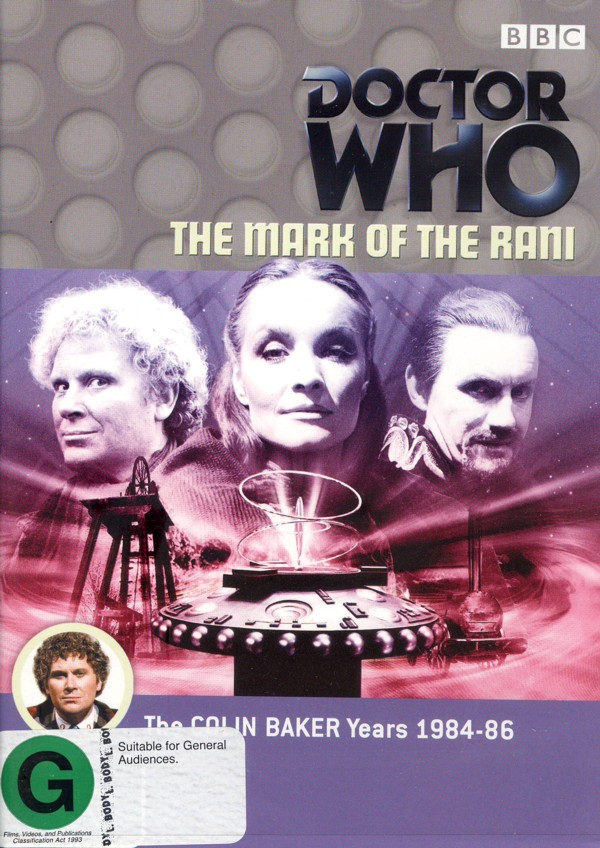 Doctor Who: The Mark of Rani on DVD image