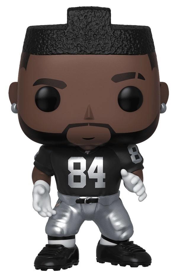 NFL: Raiders - Antonio Brown Jr (Home Jersey) Pop! Vinyl Figure image
