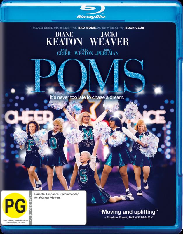 Poms on Blu-ray