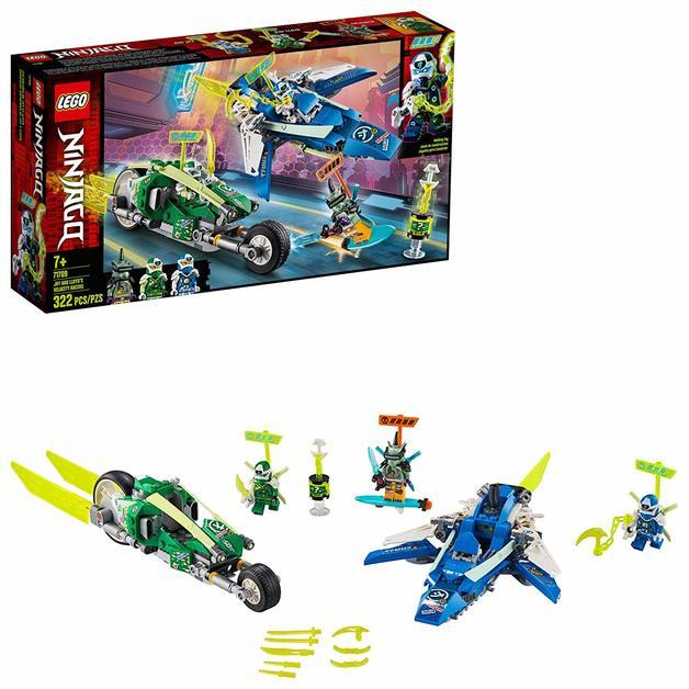 LEGO Ninjago: Jay & Lloyd's Velocity Racers - (71709)