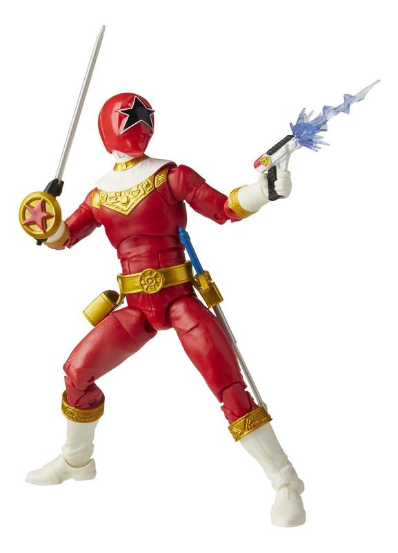 """Power Rangers: Lightning Collection 6"""" Action Figure - Zeo Red Ranger"""