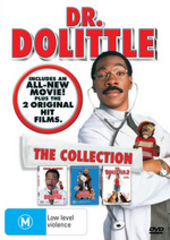 Dr Dolittle - The Collection (3 Disc Set) on DVD
