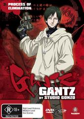 Gantz - Vol 3 - Process Of Elimination on DVD