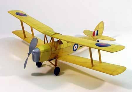 "Tiger Moth 17.5"" Wingspan Model Kit"