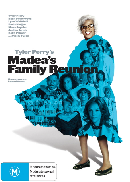 Madea's Family Reunion on DVD image