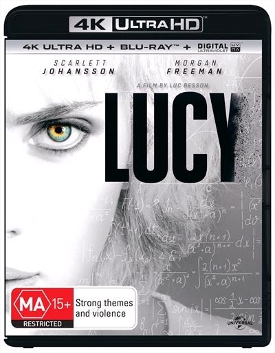 Lucy on Blu-ray, UHD Blu-ray