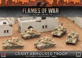 Flames of War: Desert Rats - Grant Armoured Troop