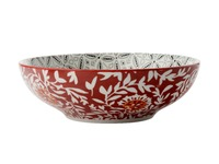 Maxwell & Williams - Boho Coupe Bowl Batik Grey (18cm)