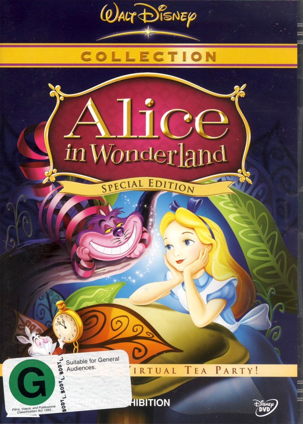 Alice In Wonderland - Special Edition on DVD image