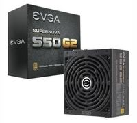550W EVGA SuperNOVA 550 G2 80+ Gold Full Modular PSU