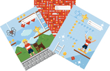 Spencil: Pixel - A4 Book Cover Set (3-Pack)