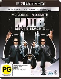 Men In Black 2 on UHD Blu-ray
