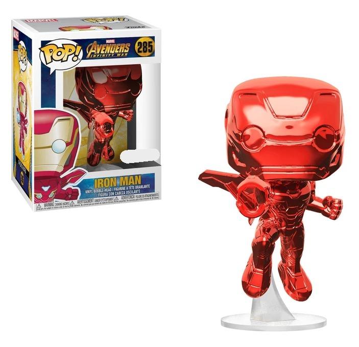 Avengers: Infinity War - Iron Man (Red Chrome) Pop! Vinyl Figure image