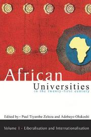 African universities in the twenty-first Century: Volume 1