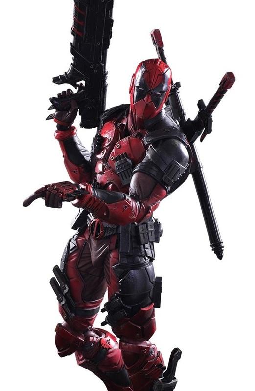 Marvel Universe: Deadpool - Variant Play Arts Kai Figure