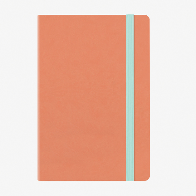 Legami: Medium Weekly 12 Month 2020 Diary with Notes - Salmon