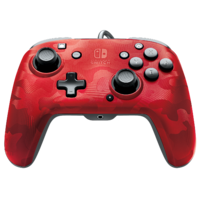 PDP Faceoff Controller Deluxe for Switch - Red Camo for Switch