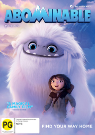 Abominable on DVD image