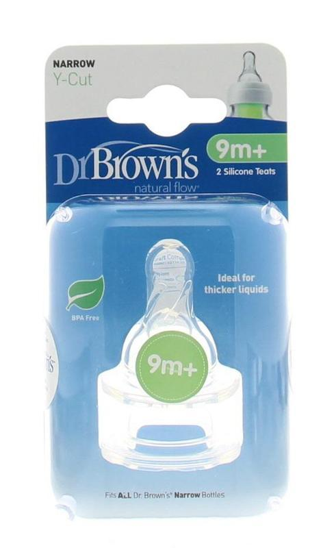 Dr Browns: Narrow Y-cut Neck teats