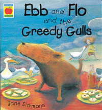 Ebb and Flo and the Greedy Gulls by Jane Simmons image