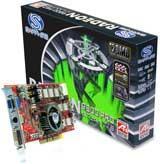 Sapphire Radeon Video Card 9800 Pro 128MB AGP