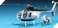 Academy Hughes 500D Police 1/48 Model Kit image