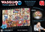 Holdson: Wasgij Mystery - 10 Spring Has Sprung
