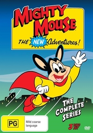 Mighty Mouse - The New Adventures on DVD