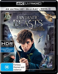 Fantastic Beasts and Where to Find Them on Blu-ray, UHD Blu-ray