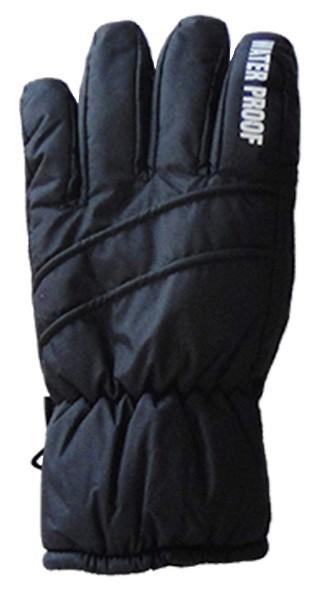 Mountain Wear: Black Z18R Kids Gloves (Medium)