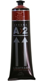 Chroma: A2 Lightfast - Heavy Body Acrylic Paint - Light Red Oxide (120ml)