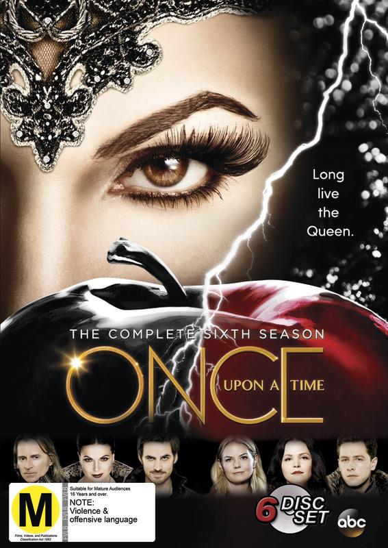 Once Upon A Time - Season 6 on DVD