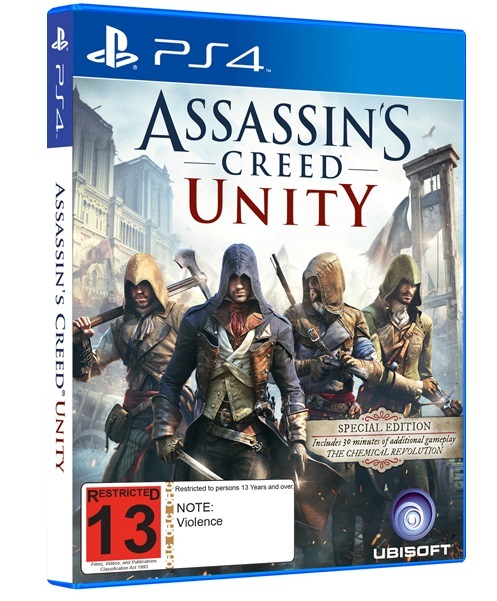 Assassin's Creed Unity Special Edition for PS4 image