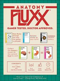 Anatomy Fluxx - Card Game